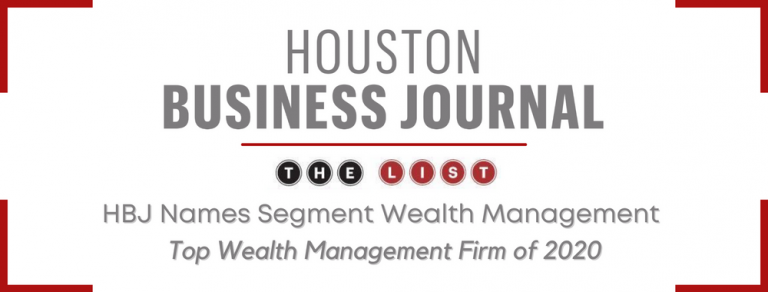 Segment Ranked Top Wealth Management Firm by HBJ